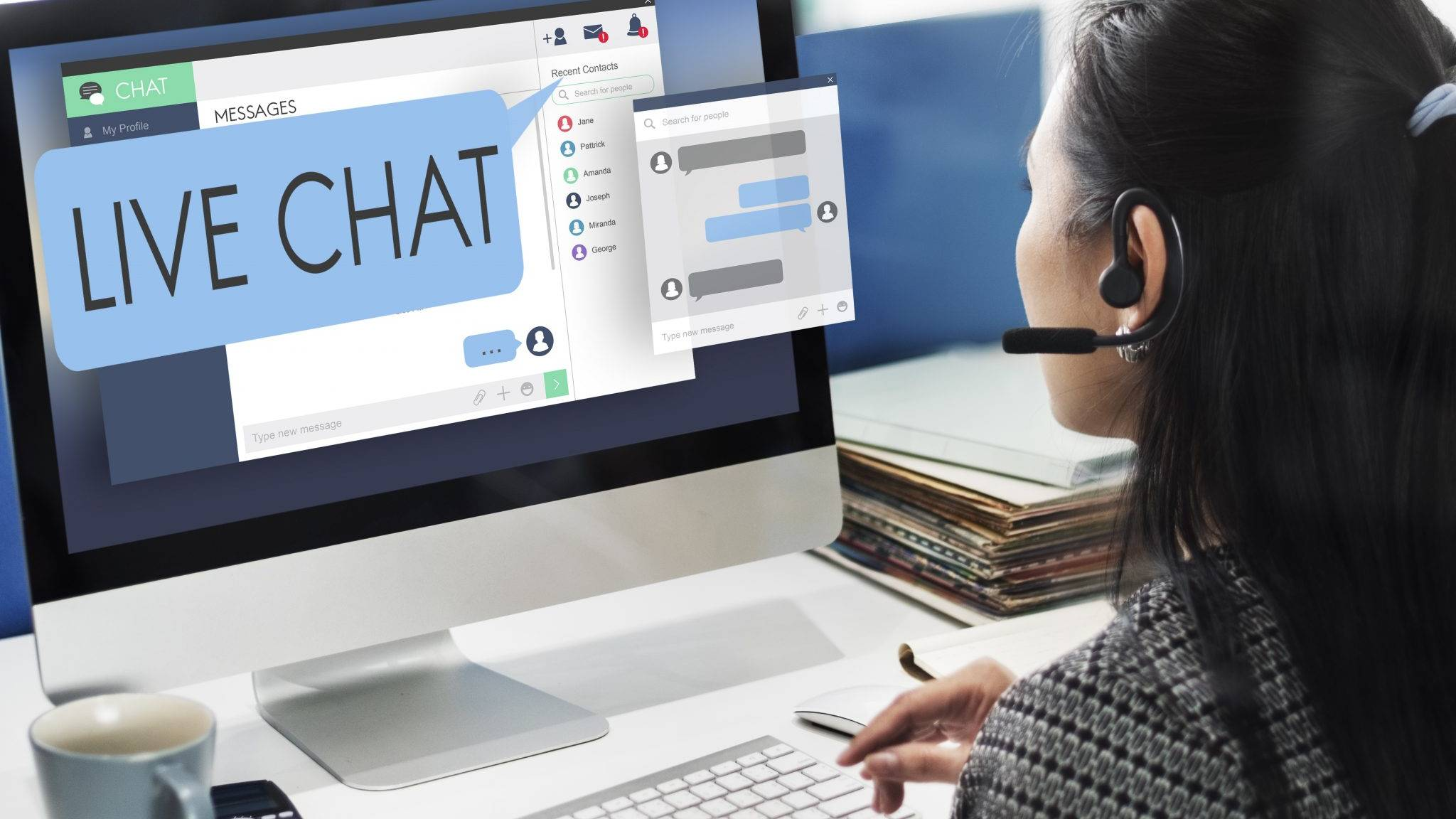 Livechat Callcenter Straightline1 Support